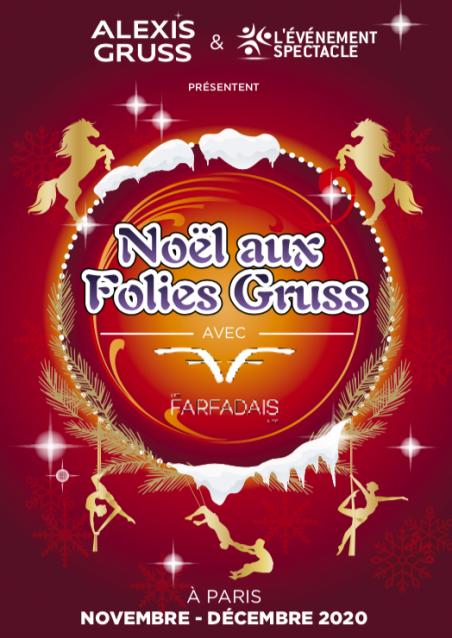 Affiche Noël aux Folies Gruss