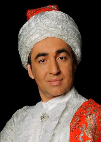Portrait Louis-Olivier Ostrowsky Omar Pasha théâtre noir magique