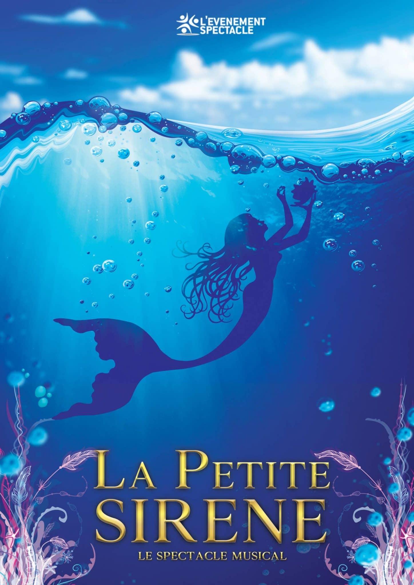 La Petite Sirène le spectacle musical pour les CSE avec l'Evenement spectacle