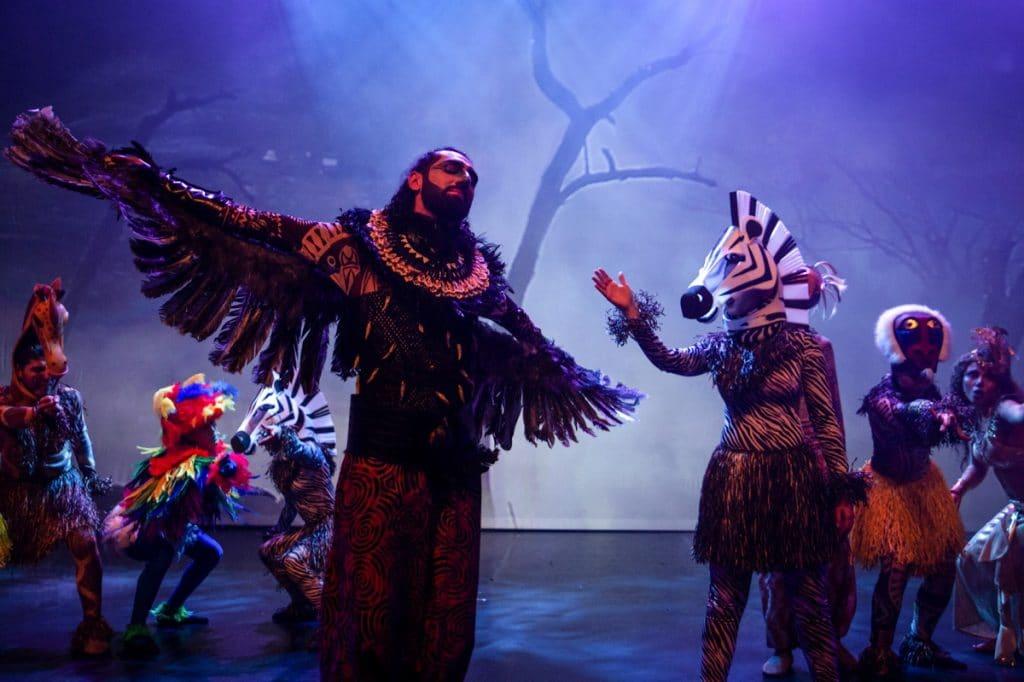 Image spectacle musical La légende du lion arbre de Noël CSE